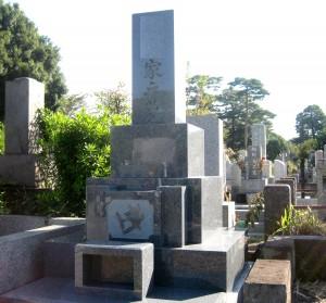 多磨霊園2㎡和型墓石2