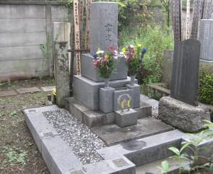 石塔墓石 施工前