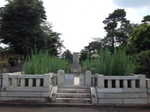 多磨霊園48㎡清掃前
